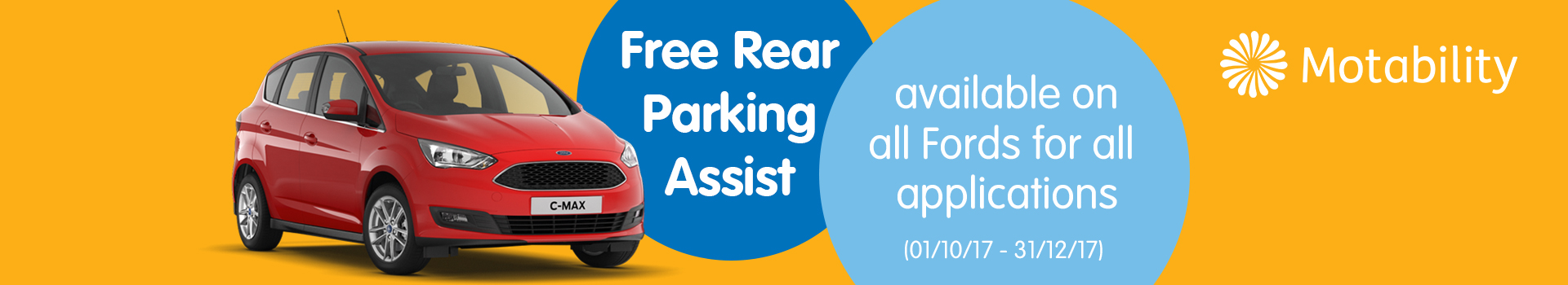 Ford Motability special offer