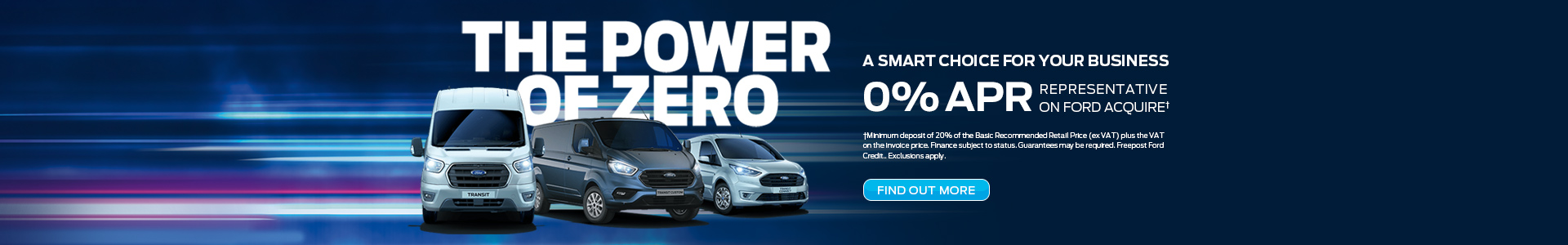 The Power of Zero on Ford Vans