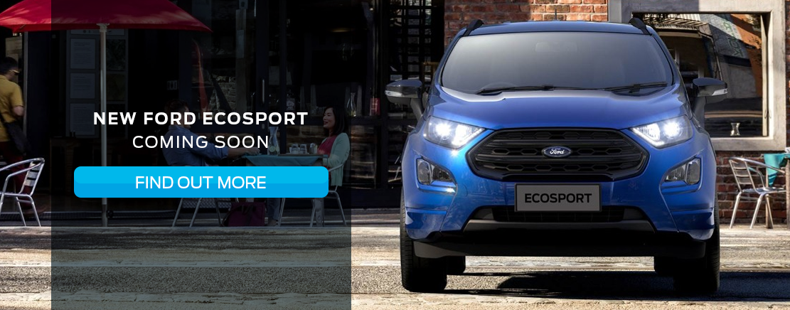 The New EcoSport coming soon