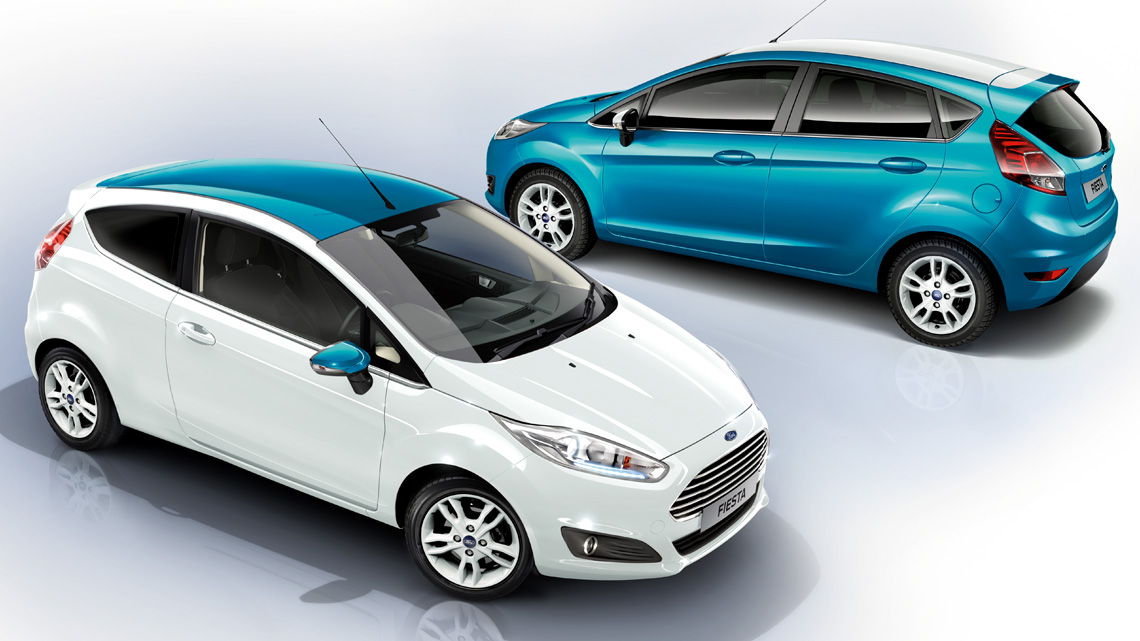 Ford Fiesta Range Busseys New Ford Cars