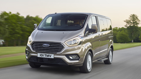 The New Ford Tourneo Custom