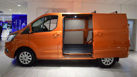The New Ford Transit Custom