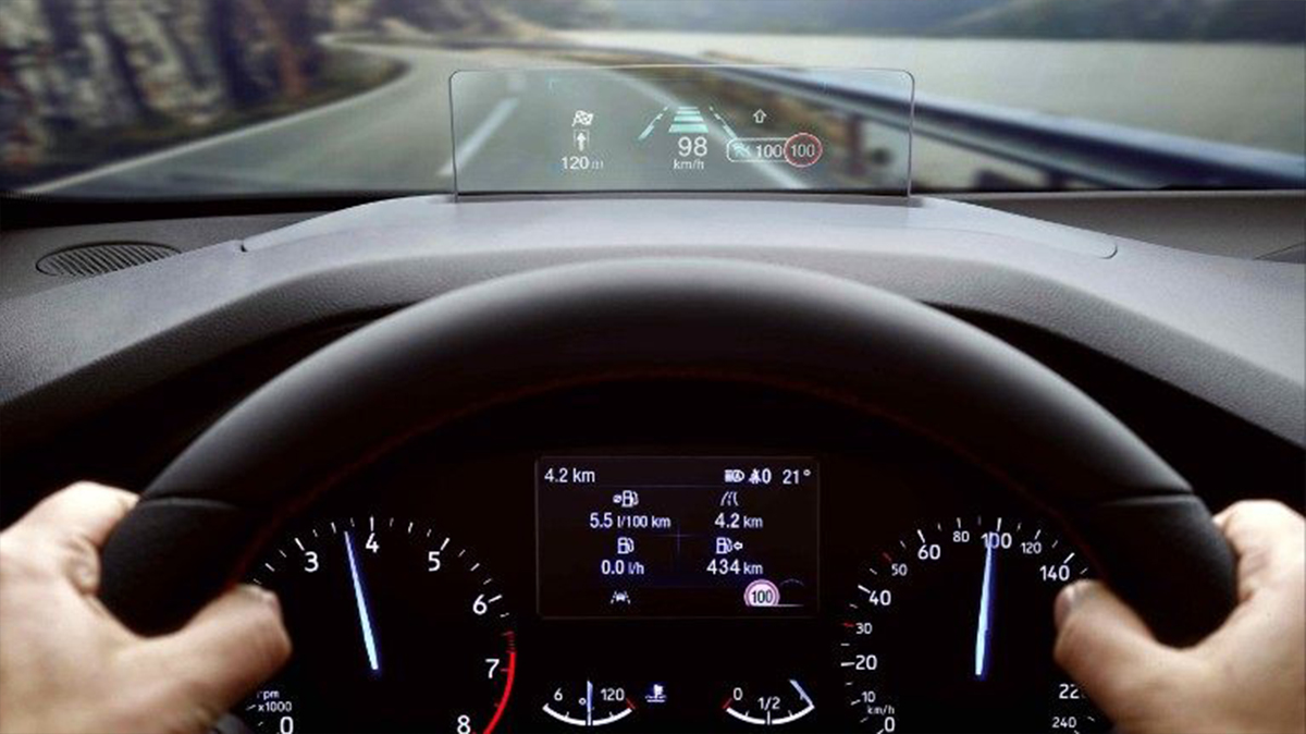 Heads Up display in new Focus