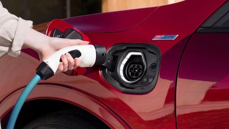 All-New Kuga charging
