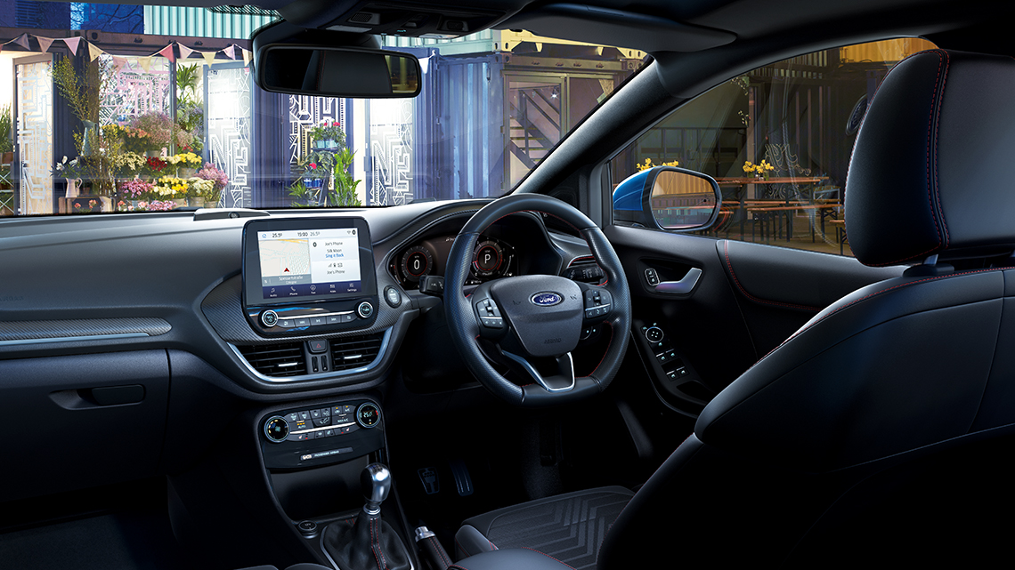 New Ford Puma interior