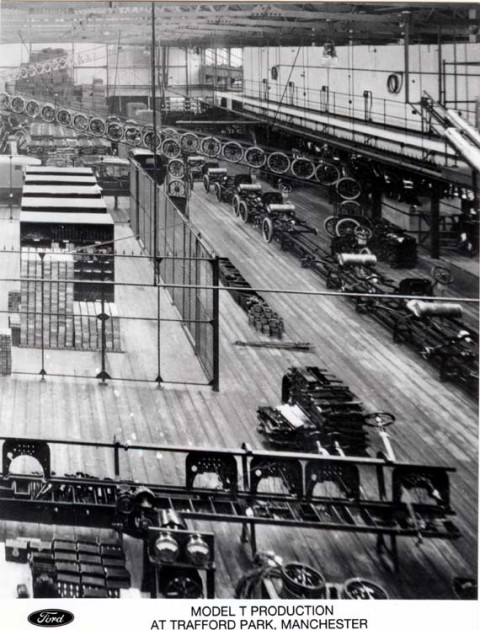 Fords first British manufacturing plant - 1911
