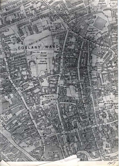 Map of Norwich 1907