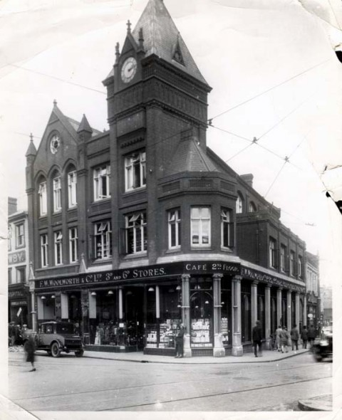 Woolworths in Norwich 1925