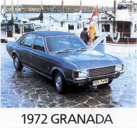 1972 Ford Granada