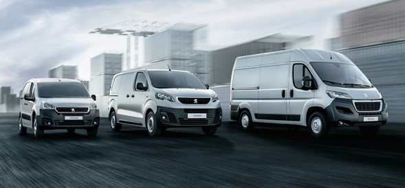 New Peugeot Van offers