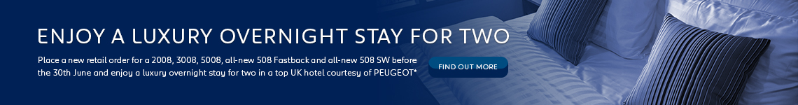 Win a luxury stay with Busseys Peugeot