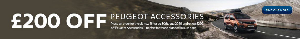 Peugeot Accessories Offer