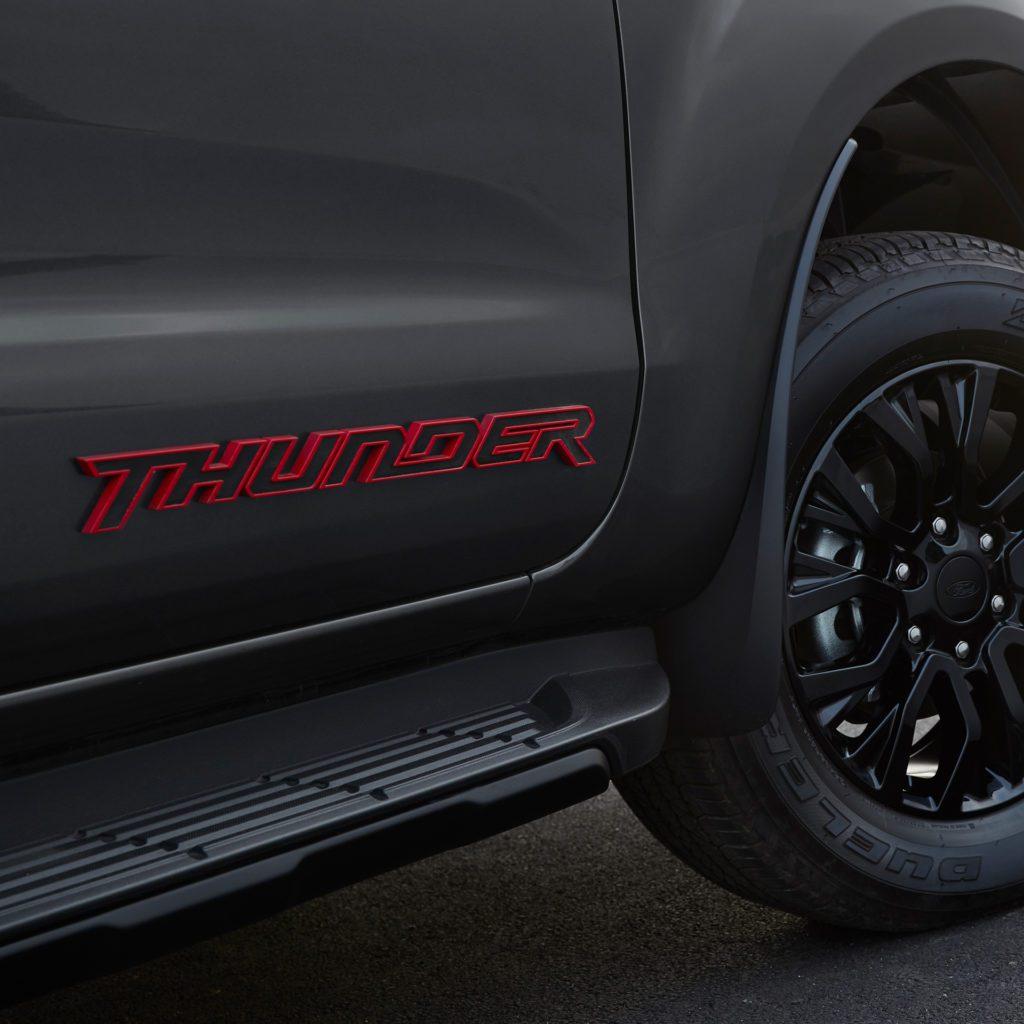 thunder 3D badge