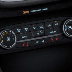 Ford Fiesta Sport Van interior