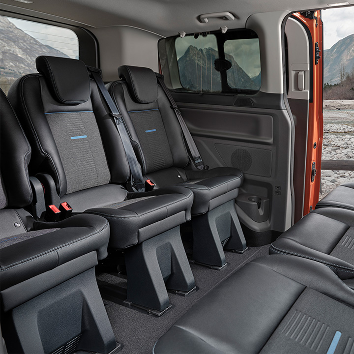 Tourneo Custom Active rear seating