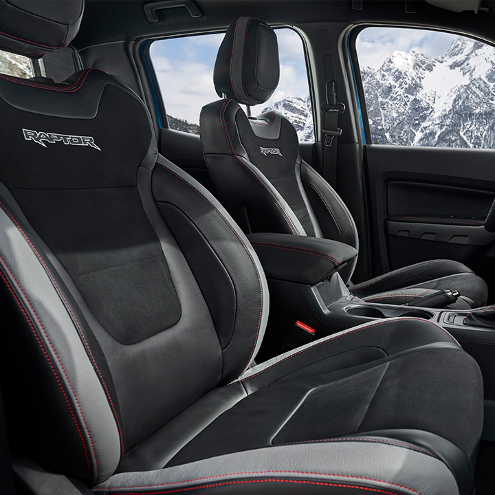Raptor Special Edition Interior