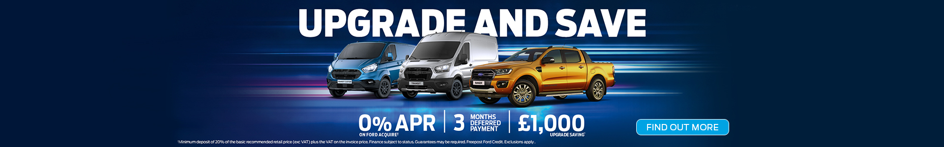 Upgrade and Save on Ford Vans