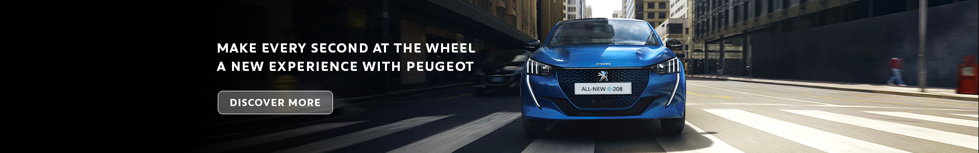 Discover the new Peugeot Range
