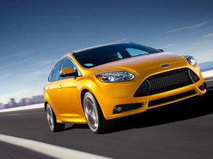All-New ford Focus ST cast as lead car in the sweeney movie 2012