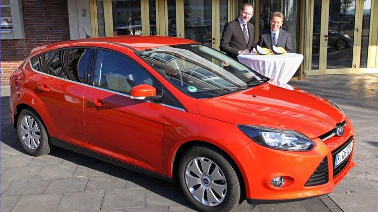 2011 focus receives four star euro NCAP advanced rewards