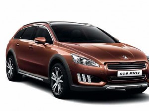 New Peugeot 508 RXH Diesel Hybrid4 launch