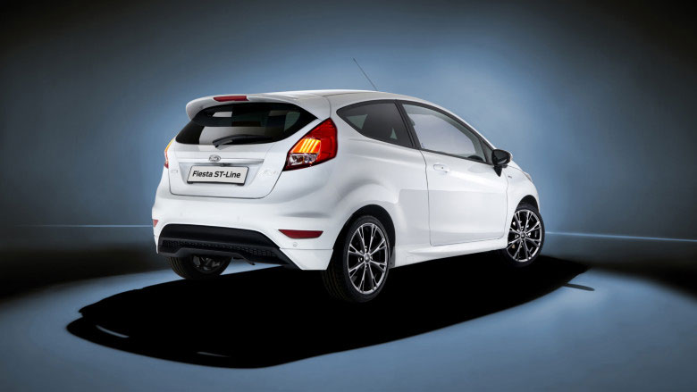 Ford Fiesta ST-Line exterior