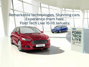 Ford Tech Live Event 16th – 19th January