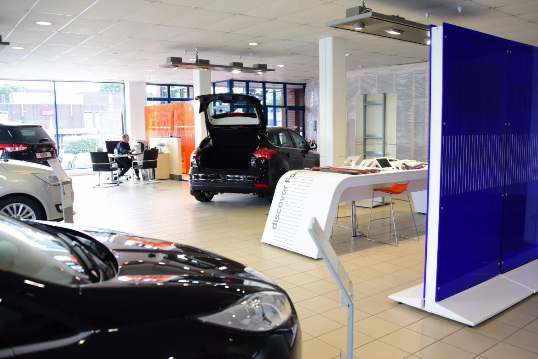 Busseys Whiffler Road Showroom. Picture: DENISE BRADLEY