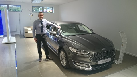 Mondeo Vignale in our showroom