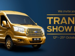 Ford Transit Show Live October 2015