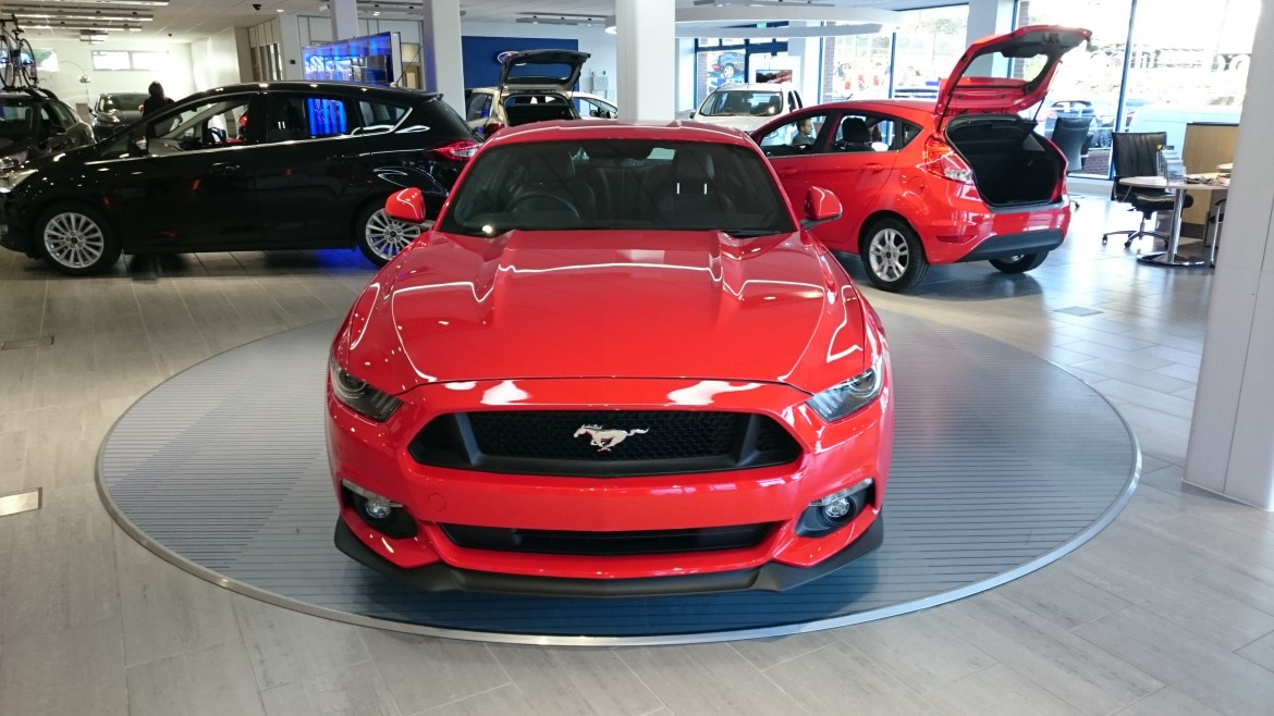 Ford Mustang in our Showroom
