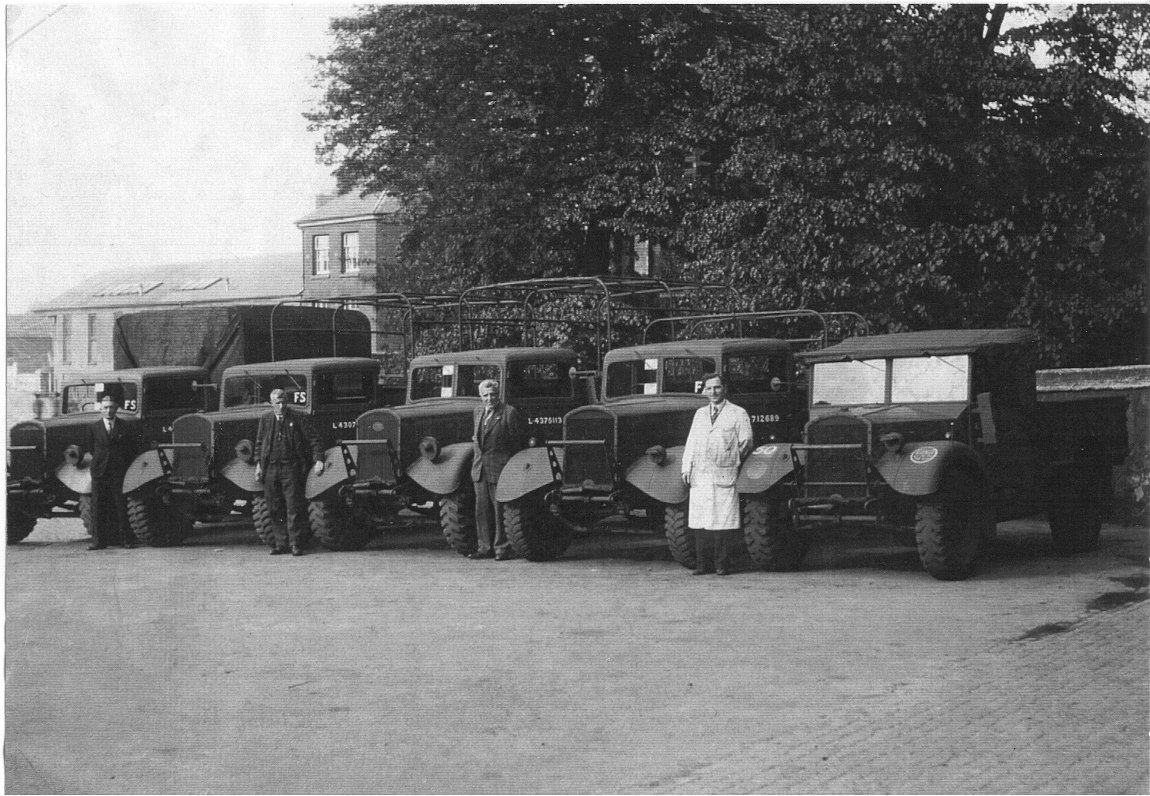 Busseys Staff during the second world war