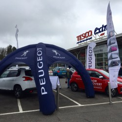 Busseys Peugeot at Dereham Tesco