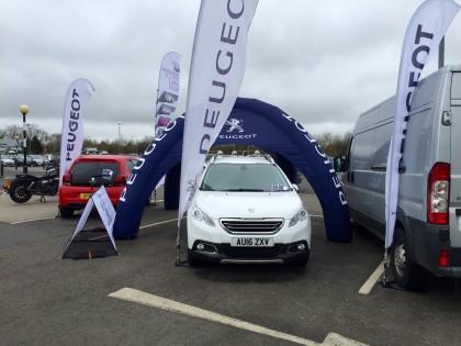 Busseys Peugeot Popping up all over Norfolk