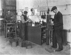 Men at work at Palace Street