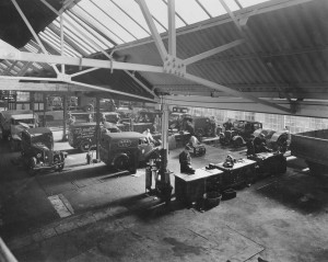1950s Palace Street workshops