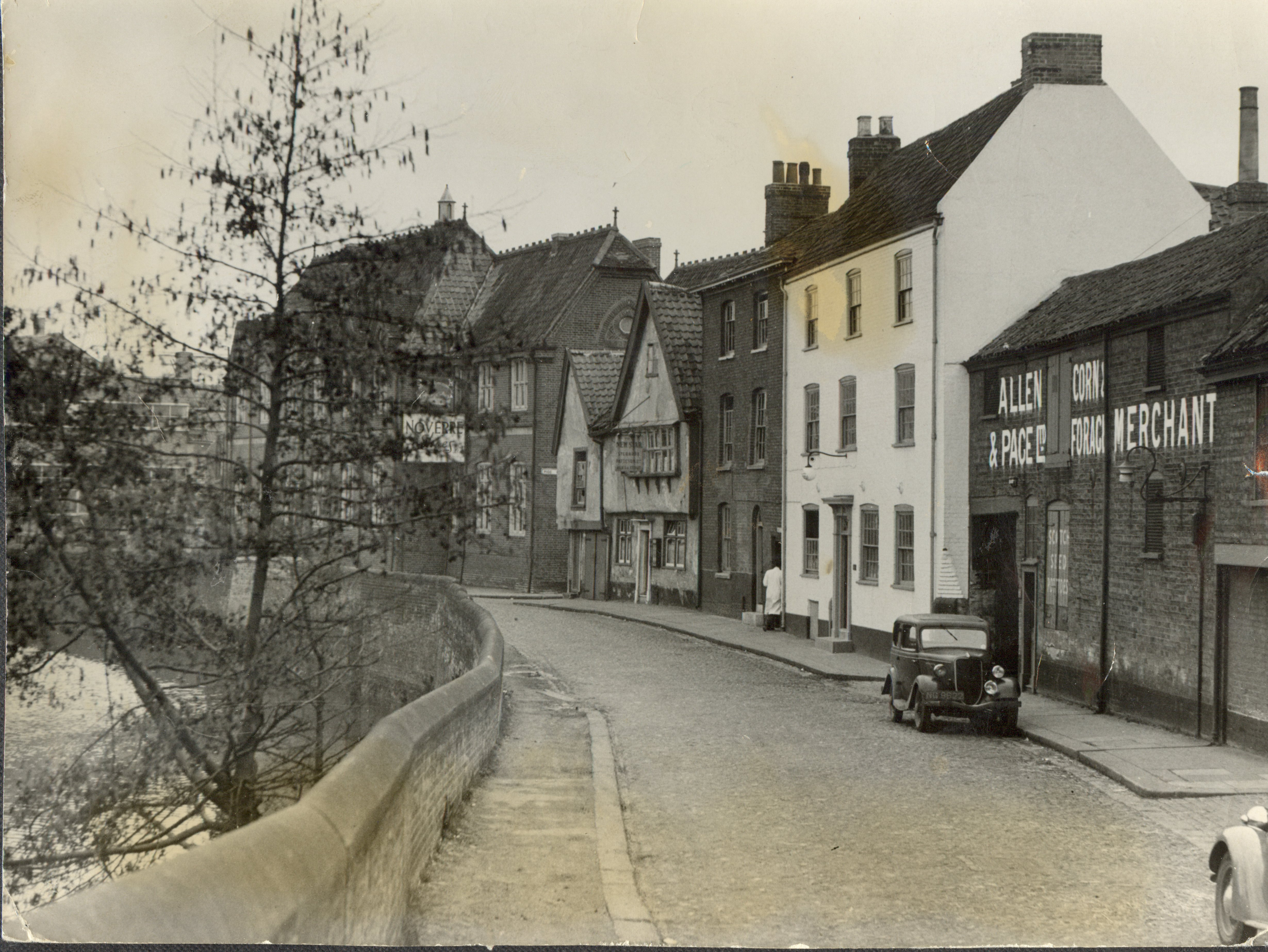 River City Ford 2 >> Busseys Back Then: The Bustling 1930s - Busseys Ford and Peugeot Norfolk