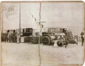 Busseys and Sabberton Bros' appearing at the Royal Norfolk Show in 1923.