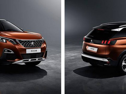 The Peugeot 3008 has landed!