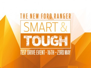 The New Ford Ranger Test Drive Event