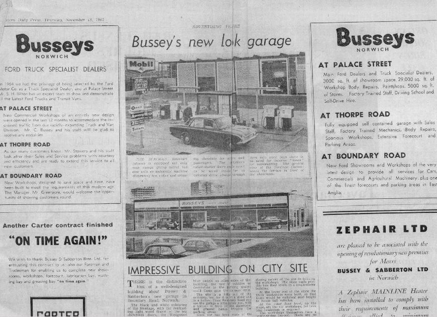 busseys edp advert