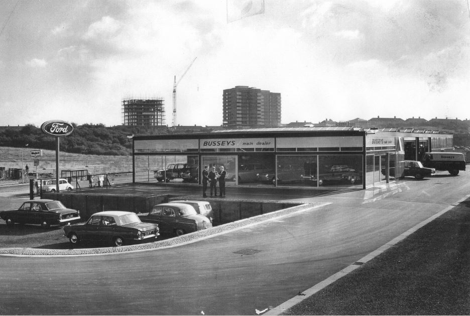 Busseys whiffler road 1960s