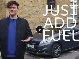 Peugeot's Just Add Fuel Campaign