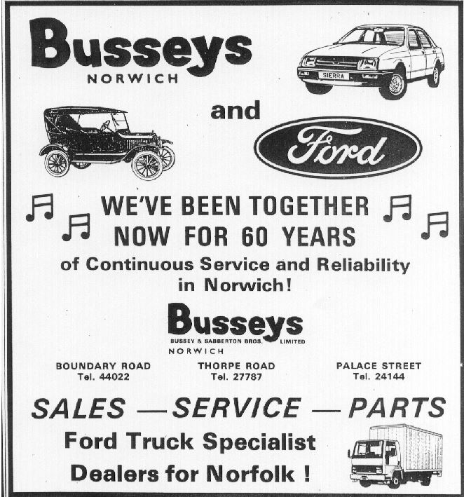 busseys 60 years