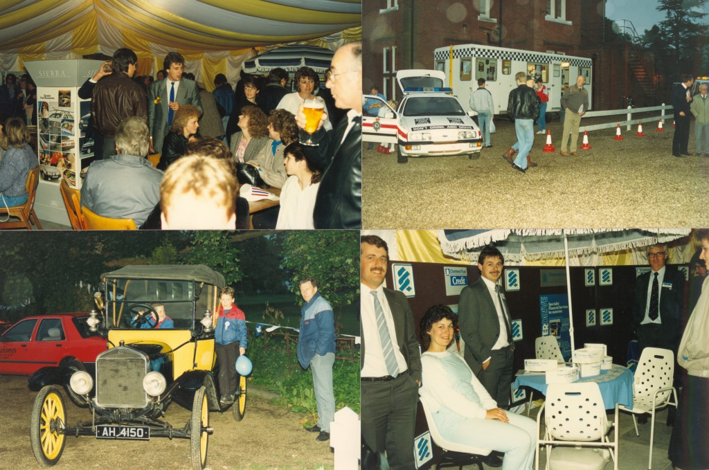 Busseys Staff and Guests at an unknown event in the 1980s
