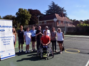Our sponsorship with the Norfolk Lawn Tennis Association!