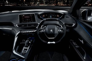 New 3008 SUV i_cockpit 1