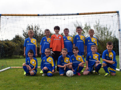 Our sponsorship with Easton St.Peters Youth Football Club U9's