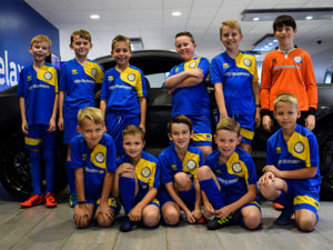 Our sponsorship with Easton St.Peters Youth Football Club U10's