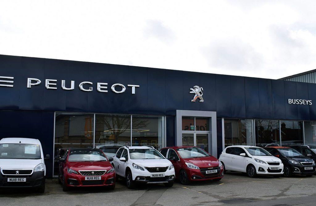 Busseys Dereham Peugeot